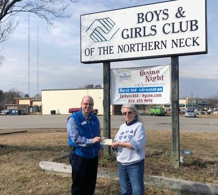 LCDC Donates to Boys and Girls Club